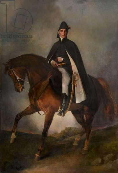1st Duke of Wellington on Copenhagen (oil on canvas)