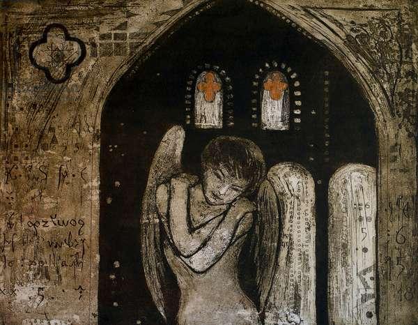 Anachiel, 2002, (etching)