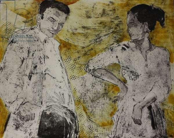 Buleria, 2008, (etching)