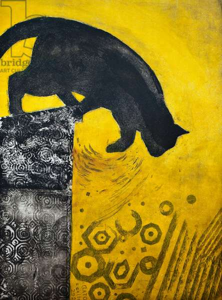 Jump, 2013, (etching)