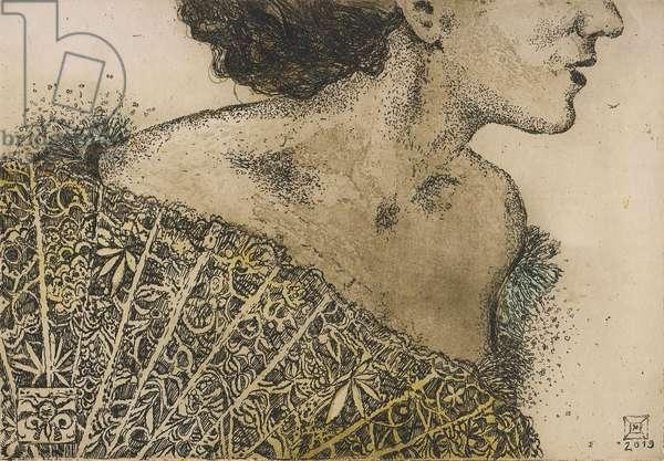 Dream, 2019, (etching)