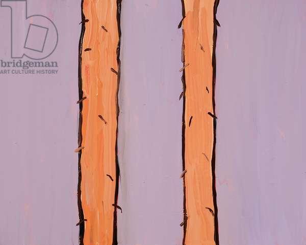 Hairy Legs, 2013, (oil on canvas)