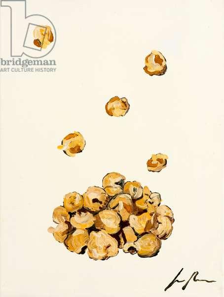 Popcorn, 2014, (oil on canvas)