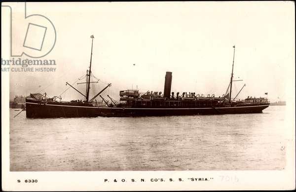 Peninsular & Oriental Steam Navigation, S.S. Syria