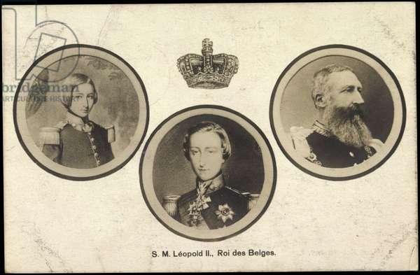 S.M. Leopold II, Roi des Belges, King of Belgium