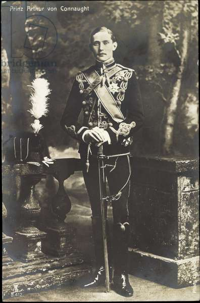 Prince Arthur of Connaught, son of Queen Victoria