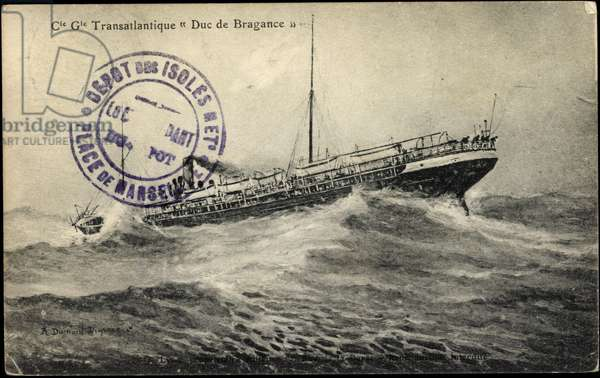 French Line, CGT, Transatlantic Duke of Bragance
