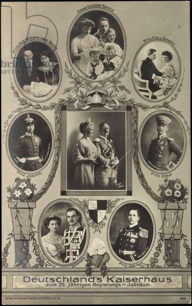 Germany's Kaiserhaus, Wilhelm II, Prussia