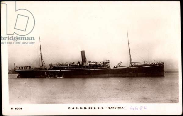 Peninsular & Oriental Steam Navigation,S.S. Sardinia
