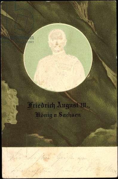 Mints Frederick August III King of Saxony
