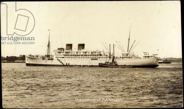Union Castle Line, UC, M.V. Dunbar Castle, Dampfer