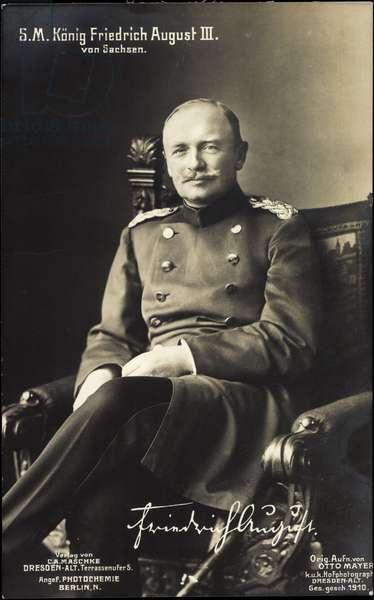 King Frederick August III of Saxony, PH Berlin