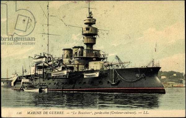 French warship Le Bouvines, Croiseur