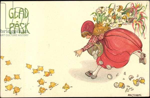 Artist Stenberg A., Congratulations Easter, Chicks