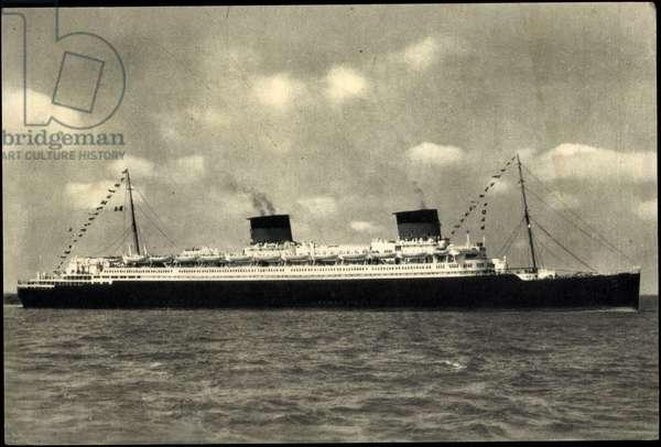French Line, CGT, Transatlantic steamer S.S. Liberté