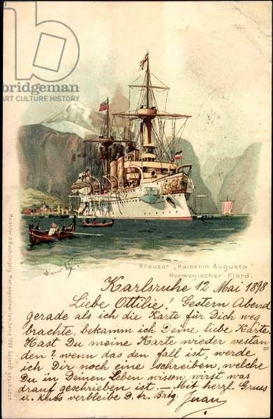 Artist Lihto Meissner book, cruiser Empress Augusta