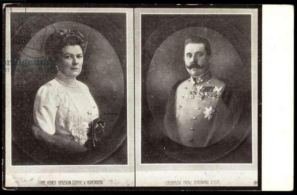 Duke Franz Ferdinand, Sophie von Hohenberg