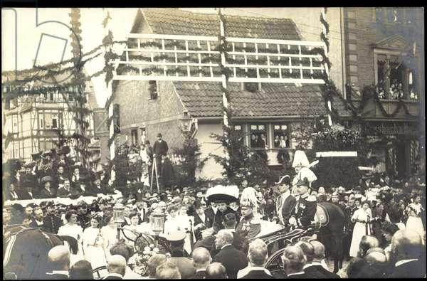 Photo Frederick William of Prussia, carriage, celebration