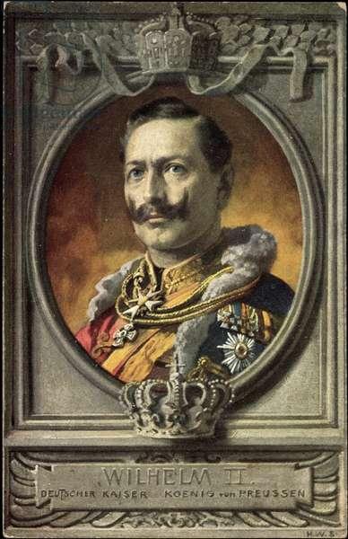 Artist Kaiser Wilhelm II, German Kaiser, Prussia