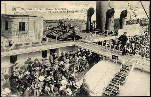 Ostend West Flanders, Passengers, Leopold II