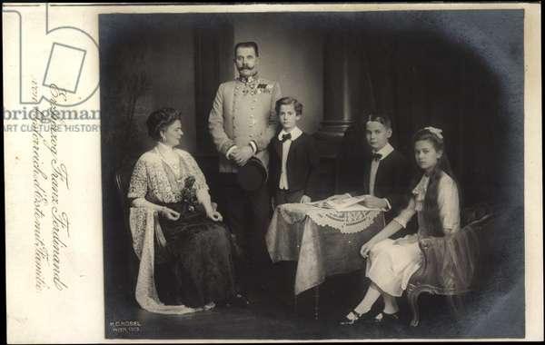 Archduke Franz Ferdinand of Austria, family