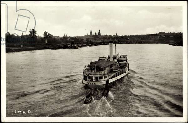 Linz Donau Upper Austria, The Dampfer D. S. G.