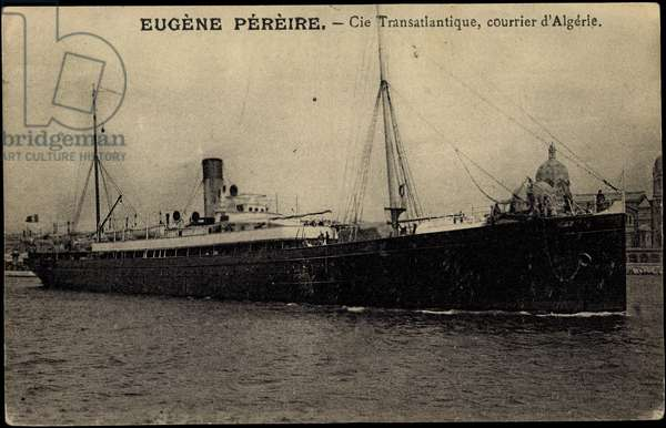 French Line CGT, Eugene Pereire, Courrier d'Algerie
