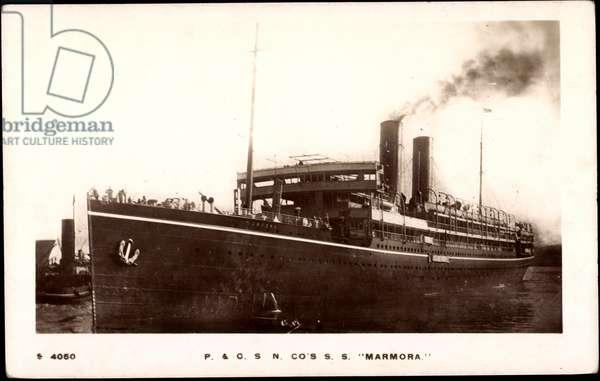 Peninsular & Oriental Steam Navigation, S.S. Marmora