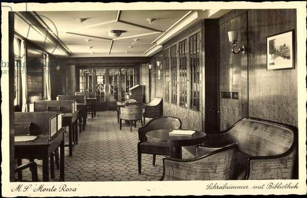 HSDG, Steamer, M.S. Monte Rosa, Library