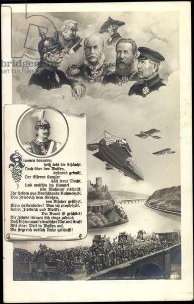 Artist Hohenzollern, Prussian emperors, Zeppelin