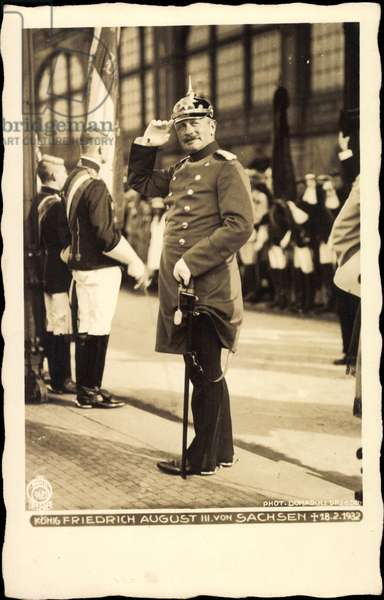 King Frederick August III of Saxony, Hahn 9681
