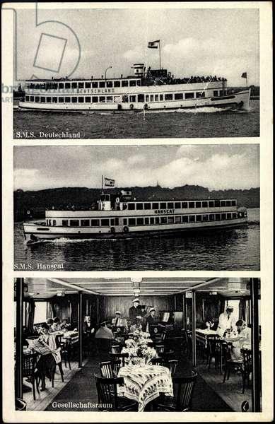 Reederei Gebr. Schreiber, Dampfer, Germany, Hanseat