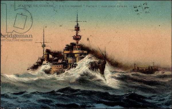 French warship Patrie, Cuirassé
