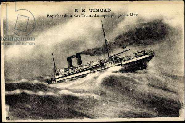 CGT, Ship S.S. Timgad, Transatlantic