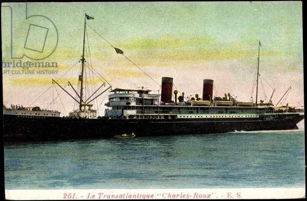 CGT, Transatlantique Charles Roux, French Line