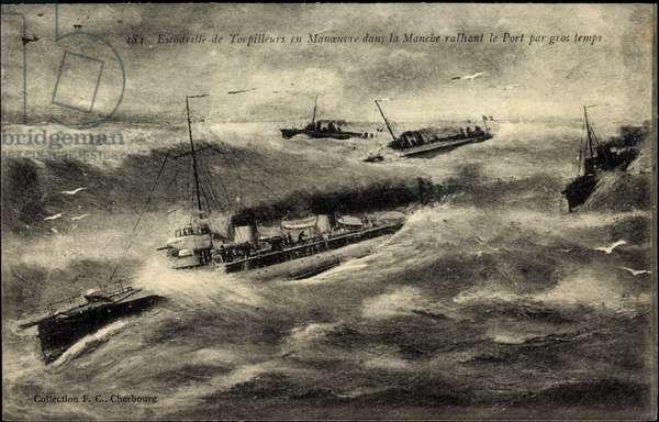 French warships, Escadrille de Torpilleurs