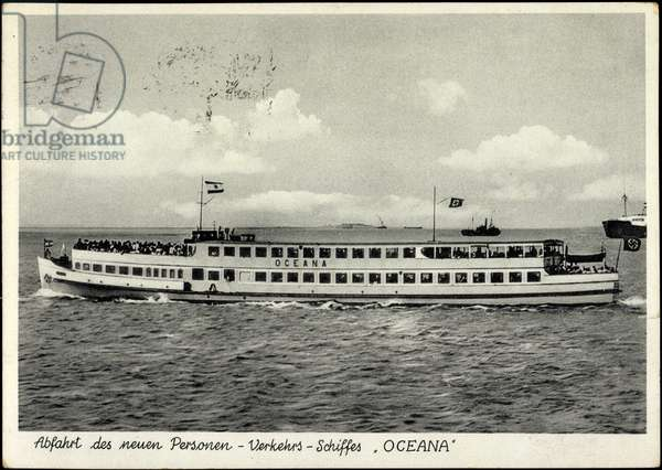 Ferry ship Oceana, O.W.A. Schreiber Reederei Bremen