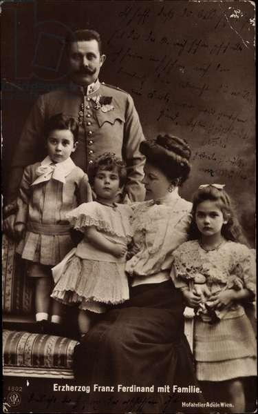 Archduke Franz Ferdinand, Family, Austria