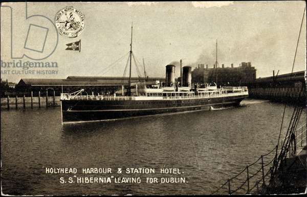 Sealink, S.S. Hibernia leaving for Dublin