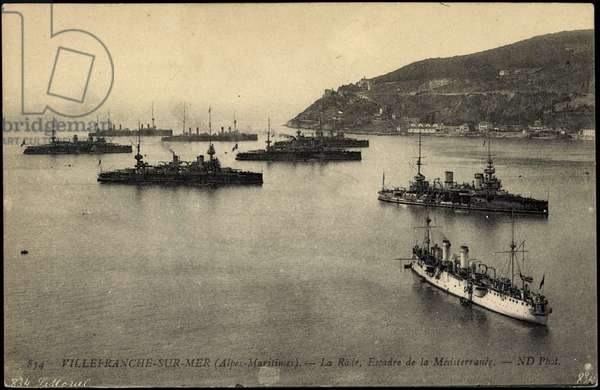 French warships, Villefranche sur Mer