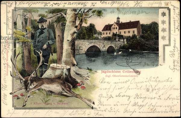 Braunsdorf, Grillenburg Castle, King of Saxony