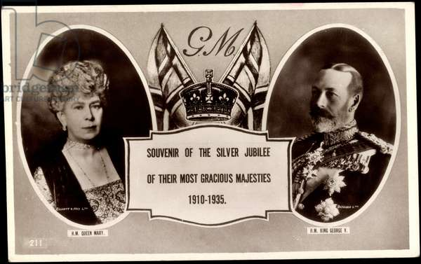 Passepartout Queen Mary,King George V,Silver Jubilee