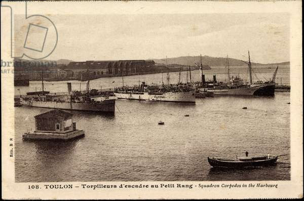 French warships, Toulon, Torpilleurs