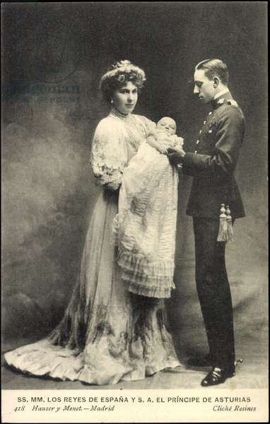 Nobility Spain, Alfonso XIII and Victoria Eugenia