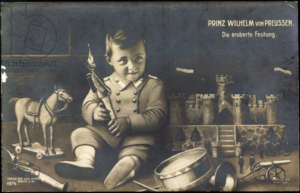 Prince William of Prussia, The Conquered Fortress