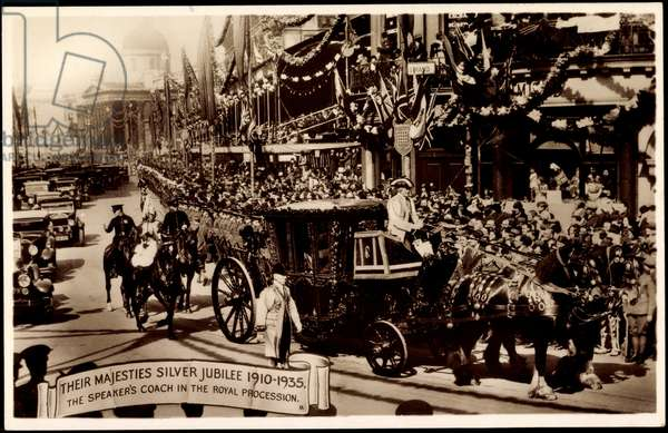 King George V, Silver Jubilee 1935, Speers Coach
