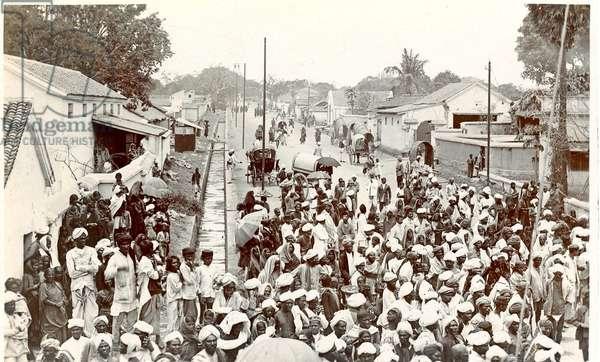 Chandigard [sic], c.1900-30 (b/w photo)