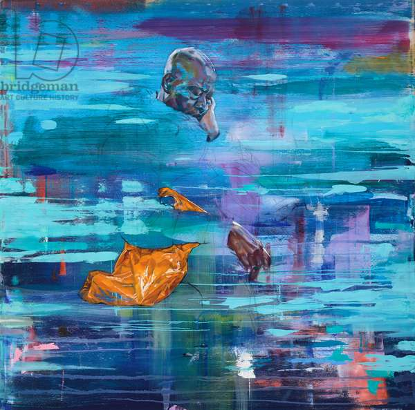 73 Northbound (oil on canvas)