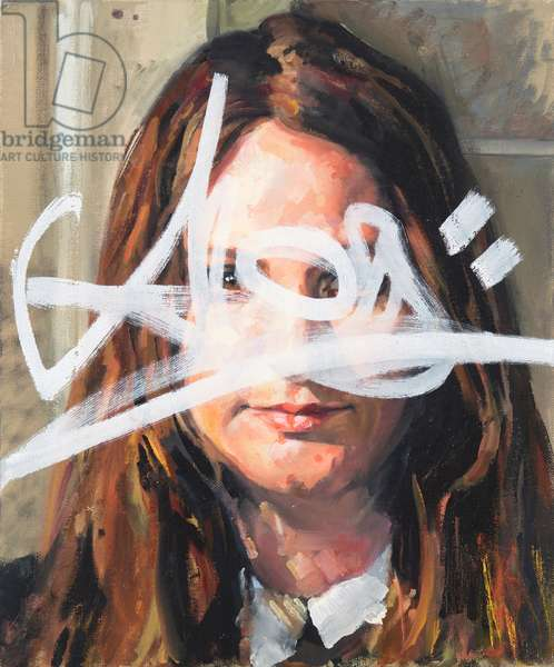 Alice - redacted (oil on canvas)