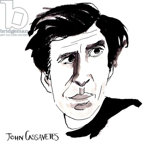 John Cassavetes, 2018 (ink on paper)